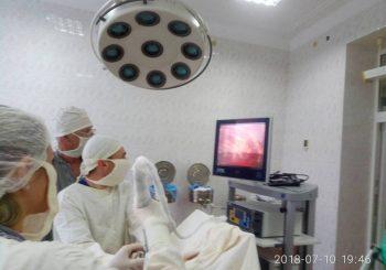В КУ «Лиманська ЦРЛ» продовжують малоінвазивну хірургію